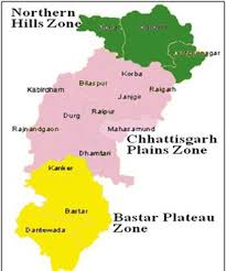 Chhattisgarh: Relief and Structure