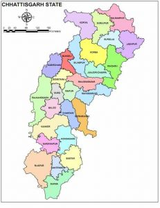 Divisions and Districts of Chhattisgarh