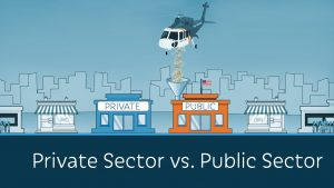 role of Public and Private Sectors